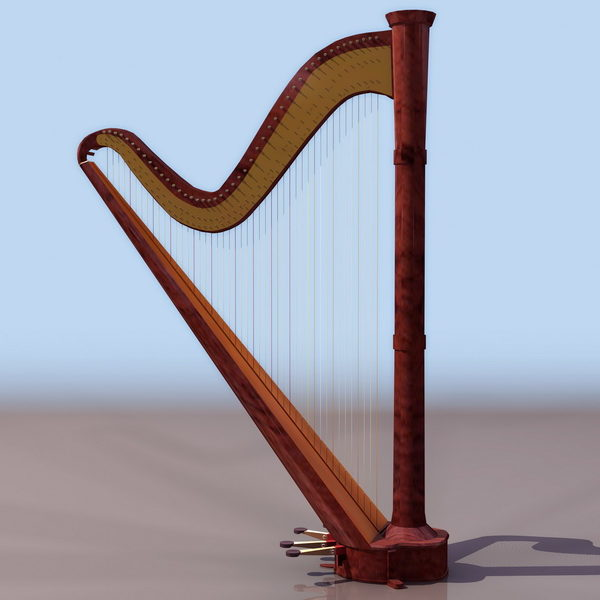 Single-action Pedal Harp