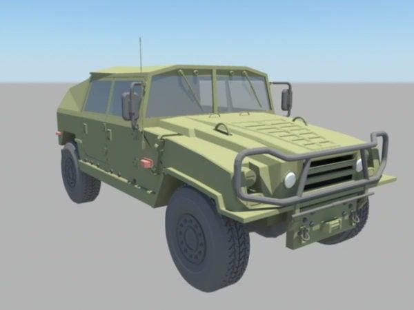 Camión Jeep Militar