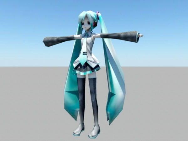 Anime Hatsune Miku