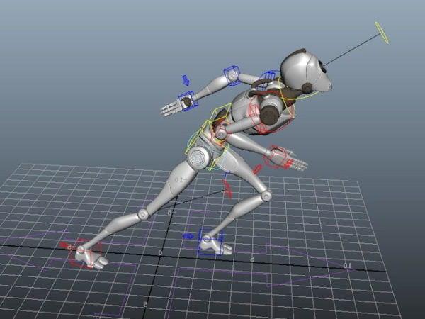 Aparejo robot humanoide