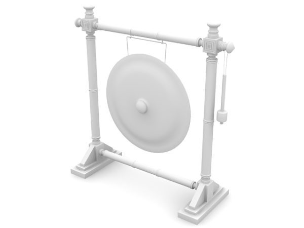 Nipple Gong With Stand