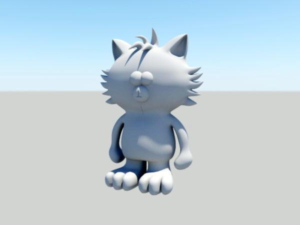 Sarjakuva kissa