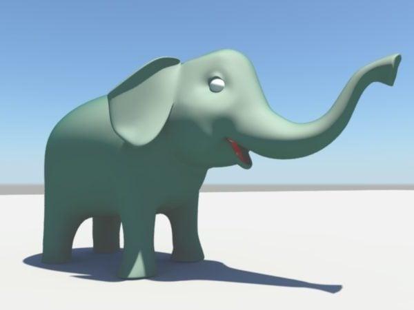 كارتون الفيل