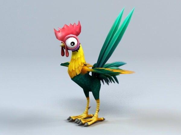 Gallo de dibujos animados