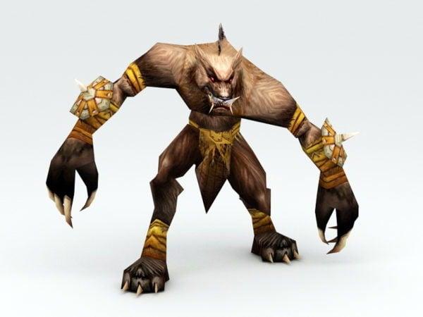 Werewolf Warrior Rig