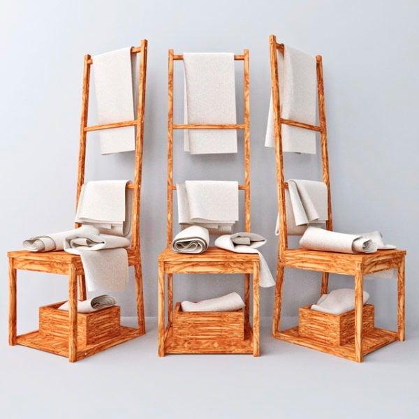 Porte Serviettes Ikea Chair Modele 3d Gratuit Max Open3dmodel