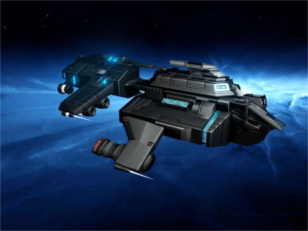 Sci-fi-avaruusalus