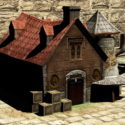 Medieval Blacksmith Forge