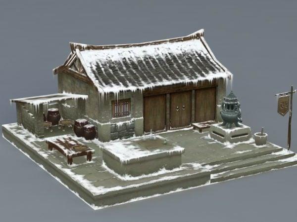 Antigua casa de nieve