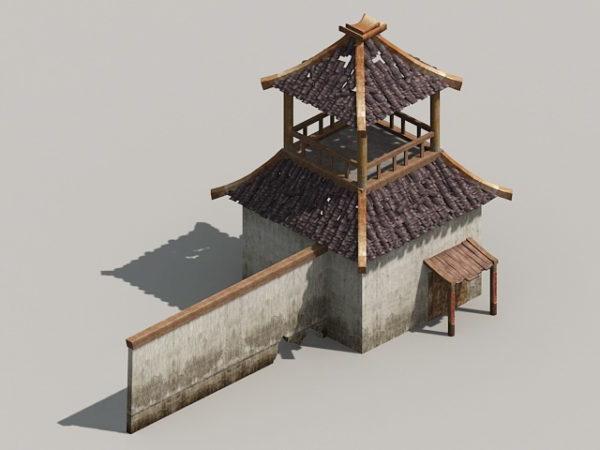 Torre de muralla medieval