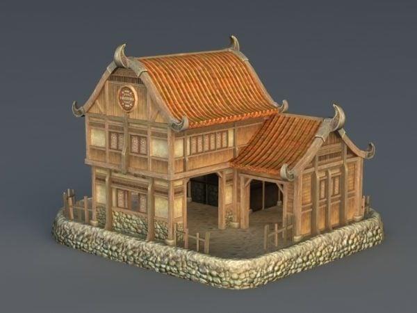 Casa medieval rica