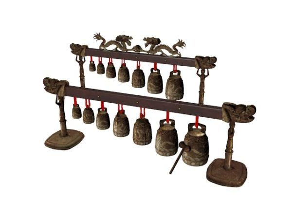 Ancient Chinese Musical Instrument Bianzhong