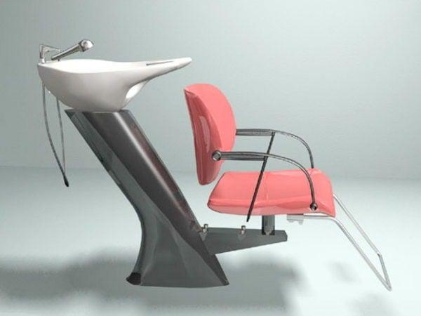 صالون شامبو كرسي