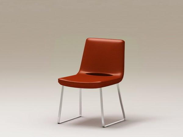 كرسي معدني حديث