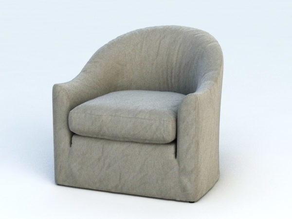 كرسي أريكة واحدة