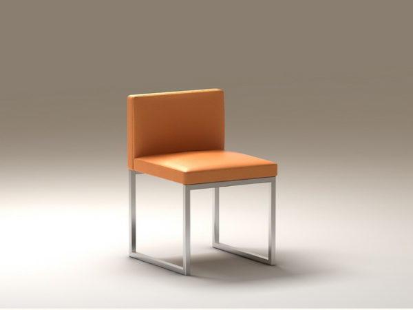 الجلود الحديثة مكعب كرسي