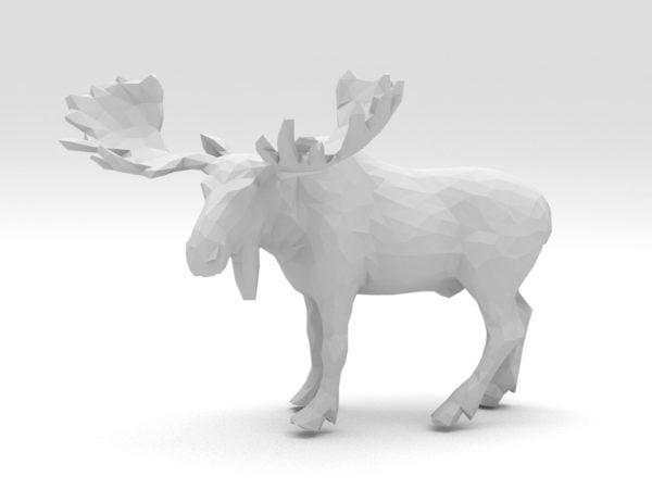 Toro Moose Low Poly