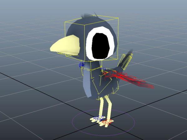 Sarjakuva lintulauta