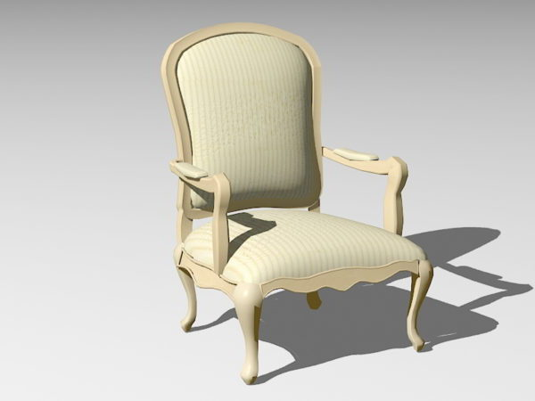 كرسي خشب تقليدي