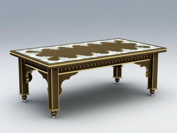 Ranskan antiikki sohvapöytä