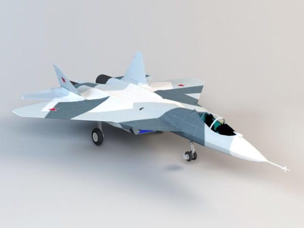 سوخوي T-50 الشبح طائرة مقاتلة