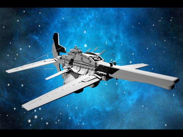 Alien Sci-Fi Starfighter