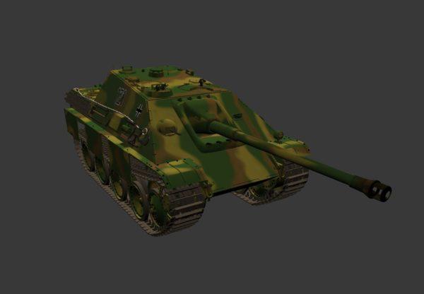 Saksalainen Jagdpanther-säiliöiden tuhoaja