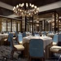 Luxury Restaurant Interior Scene