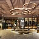 Luxury Fashion Store Interior Scene