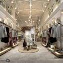 Scena interna del negozio di moda fresca