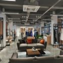 Fashion Store Modern Space Interior Scene