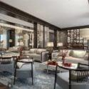 Villa Luxury Modern Living Room Interior Scene