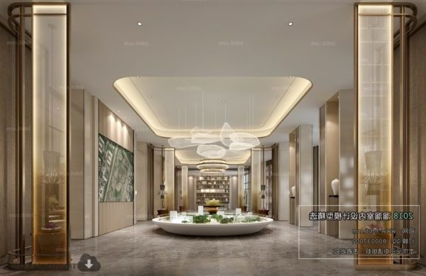 Luxury Real Estate Showcase Warm Style Interior Scene