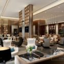 Antique Design Hotel Lounge Space Interior Scene