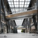 High Rise Building Lobby Interior Scene
