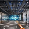 Industrial Design Fitness Room Interior Scene
