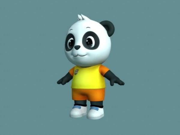 Cute Cartoon Panda Rig