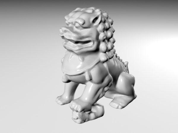 Guardian-leijonan patsas
