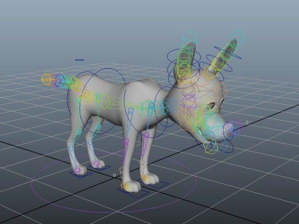 Sarjakuvakoira koira