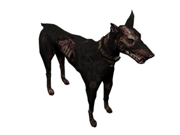Zombie Dog Character