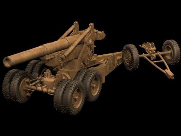203 Mm Howitzer