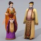 Starověká Čína středního věku pár