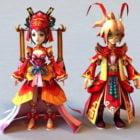 Antik Çin Anime Çifti