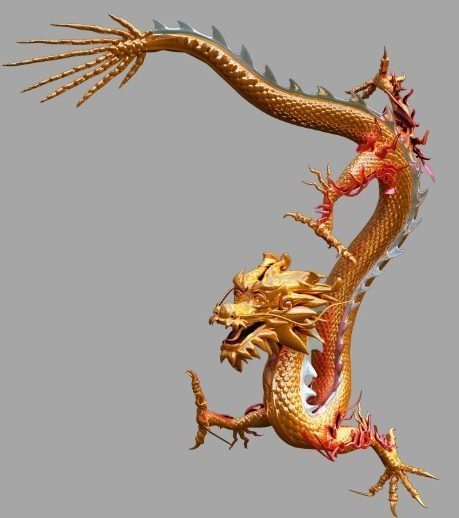 Ancient Chinese Dragon Animal