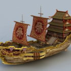 Starověké čínské obchodní loď