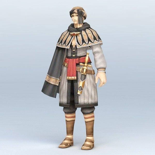 Antiguo guerrero persa