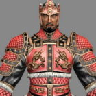 Ancient Samurai Warrior
