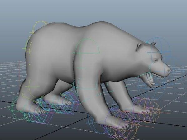 Animated Bear Rig