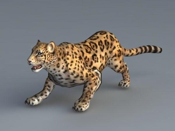 Animated Jaguar Animal