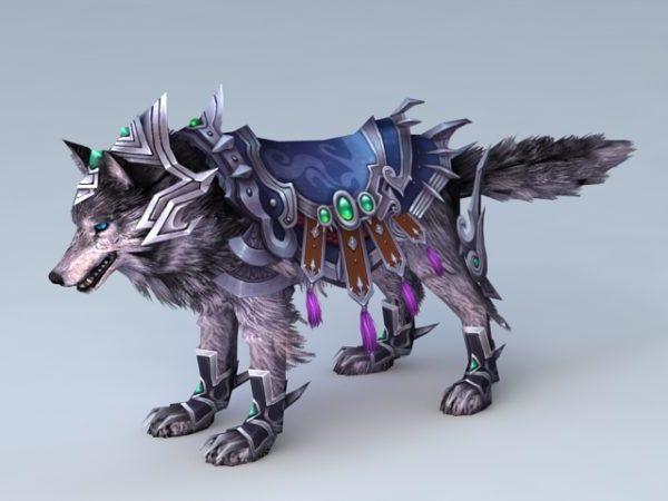 Animated Wolf Mount